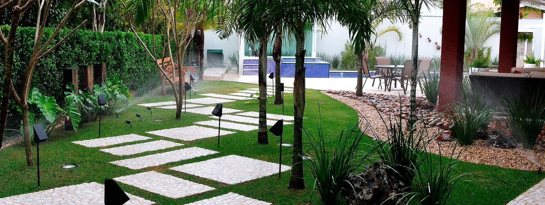 Apostem sem medo em jardins para a sua casa!