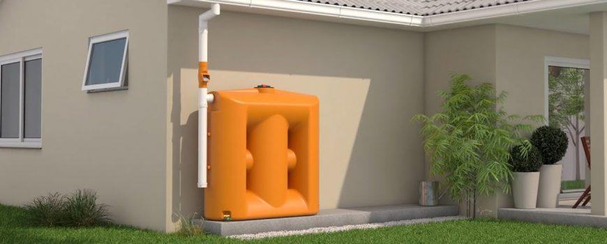 Cisterna modular para o reuso da água da máquina de lavar